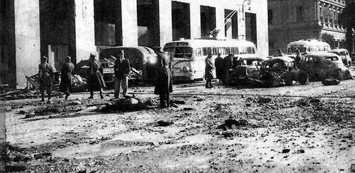 El bombardeo a la plaza de mayo y Casa de Gobierno
