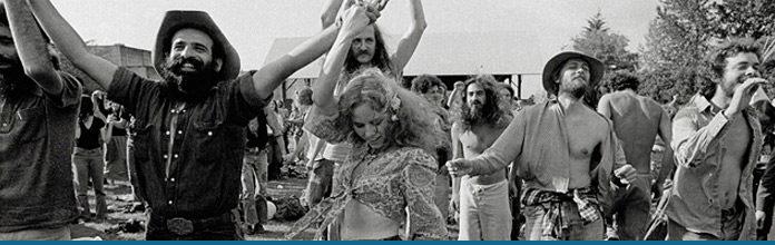 El Movimiento Hippy El Rock Roll Y Los Caminos De La