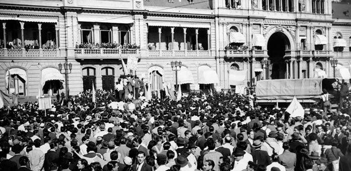 El 17 De Octubre De 1945 Testimonio De Un Obrero El